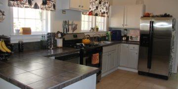 Offene Küche Dekoration