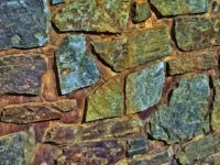 Steinwand als Deko