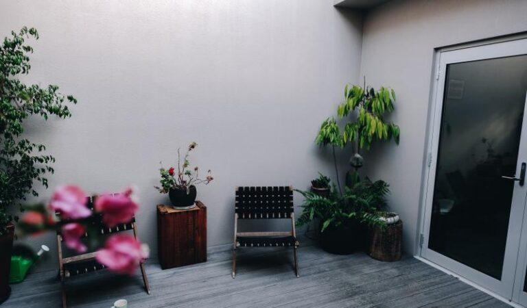 Terrasse auf Vordermann bringen